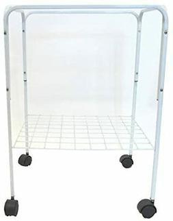YML 4924WHT Bird Cage Stand, White
