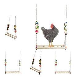 4Pieces Chicken Ladder Wooden Birds for Chicken Large Birds