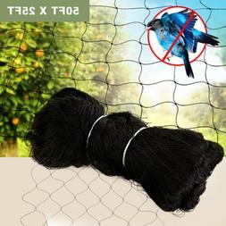 50'X50' Anti Bird Netting Garden Poultry Aviary Game Pen Pla