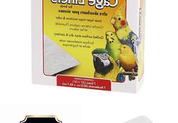 VITAKRAFT 512071 7-Pack Super Absorbent Cage Liners for Bird