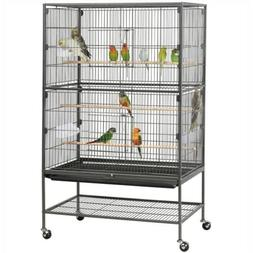"52"" Bird Cage Parrot Chinchilla Cockatiel Conure Large w/Sta"