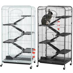52'' Large Ferret Rabbit Cage 5-Level Indoor Hutch Cage