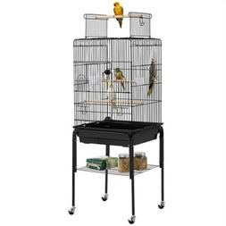 "53.5"" Play Open Top Parrot Flight Bird Cage with Detachable"