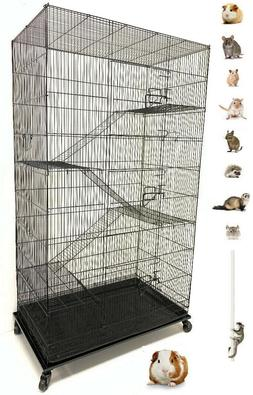 "55"" Extra Large 5-Levels Ferret Guinea Pig Sugar Glider Rat"