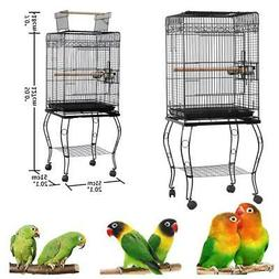 "57"" Large Bird Parrot Pet Cage Chinchilla Cockatiel Conure H"