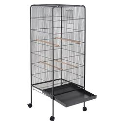 "58"" Flat Top Large <font><b>Bird</b></font> <font><b>Cage</b"