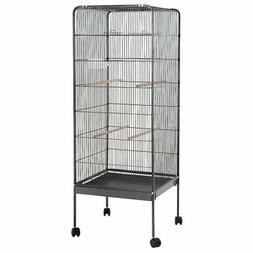 "Giantex 58"" Large Parrot Bird Cage Play Top Pet Supplies w/P"