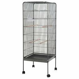 """Giantex 58"""" Large Parrot Bird Cage Play Top Pet Supplies W/P"""