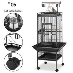 """60"""" Large Playtop Bird Cage Parrot Macaw Finch Cockatiel Con"""