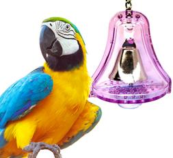 60017 LARGE BULLET PROOF BELL birds toys cages parrot plasti