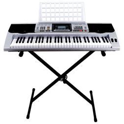 61 Key Music Digital Electronic Keyboard Electric Piano Orga