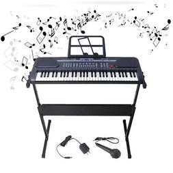 61 Key Music Electronic Keyboard Electric Digital Piano Orga