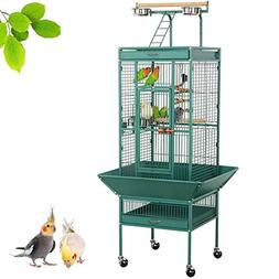 Yaheetech 61'' Wrought Iron Select Large Bird Cages Include