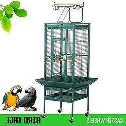"Yaheetech 62"" Pet Bird Cage Play Top Parrot Cockatiel Cockat"
