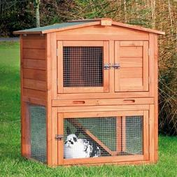 TRIXIE Pet Products 62338 Rabbit Hutch With Peaked Roof Smal