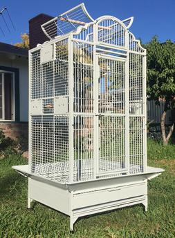"""63"""" Large Bird Parrot Open PlayTop Cockatiel Macaw Conure Av"""