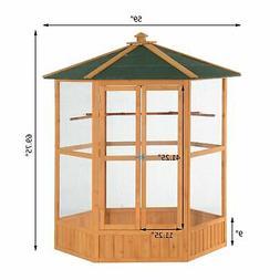 65 hexagonal aviary bird cage