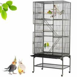 Yaheetech 69''H Extra Large Bird Cage for Mid-Sized Birds Co