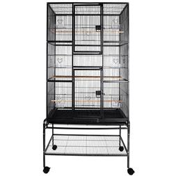 """69"""" Large Bird Flight Cage Parrot Cage Pet Supplies Macaw Co"""