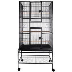 "69"" Large Bird Flight Cage Parrot Cage Pet Supplies Macaw Co"