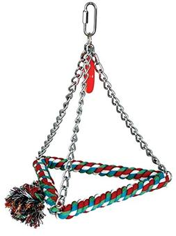 Paradise 8-Cotton Triangle Bird Swing, Medium