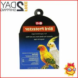 8 IN 1 BIRD PROTECTOR FORM LICE MITES LARGE FOR CAGE