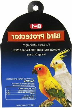 8 in 1 Bird Protector, Large,Deodorizes cage,For large bird/