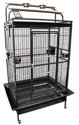 "King's Cages 8003628 Play Pen Bird Cage - 36"" W x 28"" D x 68"