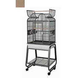 HQ 82217Cbr 22 in. x 17 in. Opening Scroll Top Cage with Car