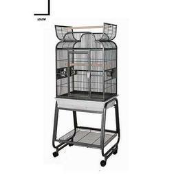 HQ 82217Cwh 22 in. x 17 in. Opening Scroll Top Cage with Car