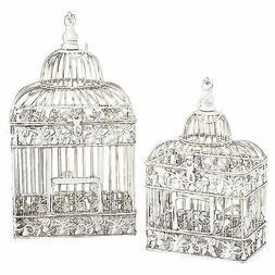 Woodland Imports 82676 Metal Bird Cage Parakeet Birds Cages