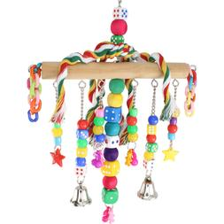 879 CHAIN WATERFALL BONKA BIRD TOY parrot cage toys cages Af