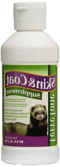 8in1 Pet Products Ferretone Skin Coat Supplement 8oz Supplie