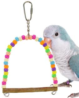 Bonka Bird Toys 940 Tiny Pastel Swing Parrot Bird Toy Finch