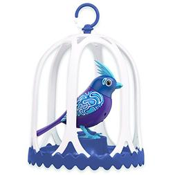 Digi Birds Bird with Bird Cage - Blue & Purple