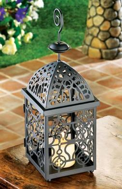 Moroccan Birdcage Iron Candle Holder Hanging Lantern