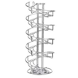 Toplife Spiral Design Stainless Steel Egg Skelter Dispenser