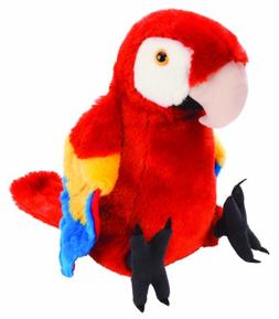 Wild Republic Scarlet Macaw Plush, Stuffed Animal, Plush Toy