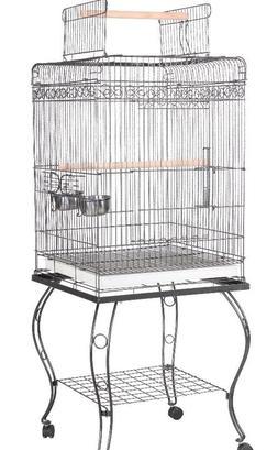"""A&E Bird Cage Economy Play Top Cage A & E White 20""""x20""""x58"""""""
