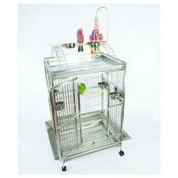 A&E Cage Co. Large Play Top Bird Cage with Bird Toy Hook