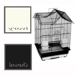 A&E Cage Co. House Top Cage; Ivory