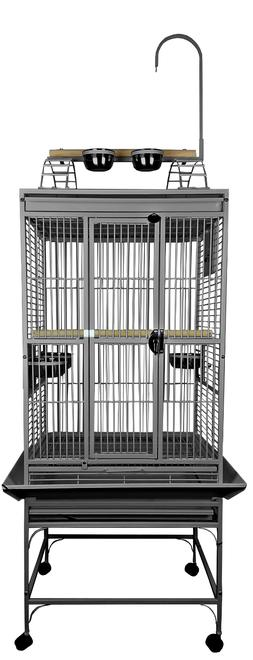 """A&E Cage 8002422 Platinum Play Top Bird Cage with 5/8"""" Bar S"""