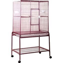 A&E Cage Co. Wrought Iron Flight Bird Cage 13221