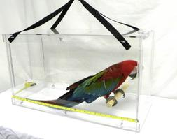 Pennzoni Display Acrylic Bird Carrier