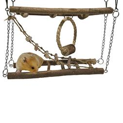 Rosewood Pet Activity Suspension Bridge - Hamster & Small An