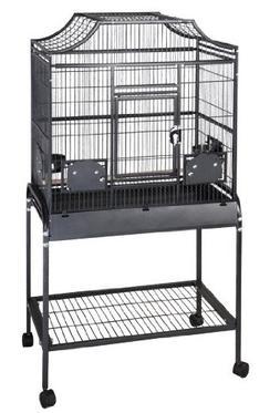 """Anahola Abode Flight Bird Cage - 32"""" x 21"""" x 61"""" - Black"""