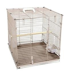 ANEC-BC1819BLACK-Folding Travel Carrier Bird Cage Color