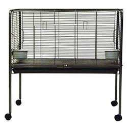 Small Animal Rabbit Cage on Stand
