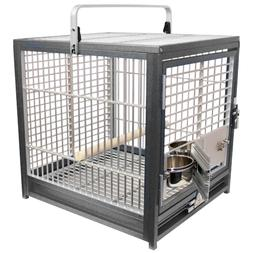 KINGS CAGES ATS 1719 ALUMINUM SMALL TRAVEL CARRIERS CAGE par