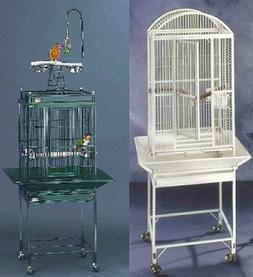 "Avian Adventures Nina Bird Cage - 20"" X 18"" X 51"" - Pearl Wh"